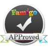Famigo APProved badge for best-ipad-apps.